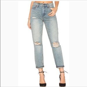 Free People | Destroyed Syxx Boyfriend Jeans